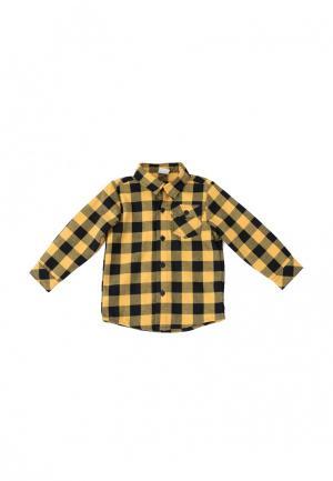 Рубашка PlayToday. Цвет: желтый