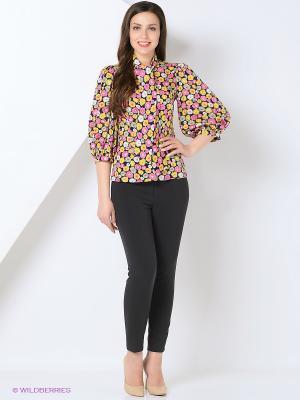 Блуза СОНЯ МАРМЕЛАДОВА. Цвет: желтый, розовый