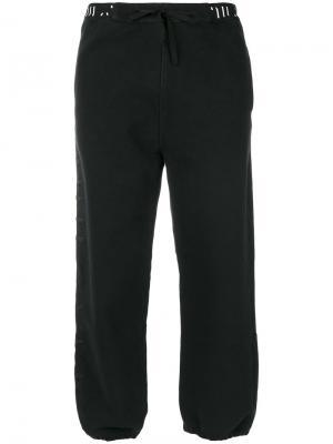 Укороченные брюки Unravel Project. Цвет: чёрный