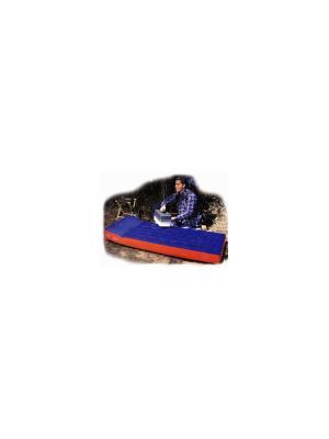 Надувной матрас кемпинг 189х72х20см Intex. Цвет: синий