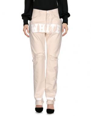 Повседневные брюки OFF-WHITE™. Цвет: слоновая кость