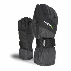 Перчатки Level. Цвет: black