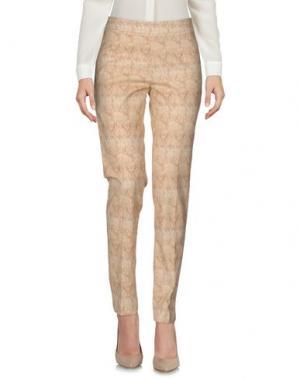 Повседневные брюки FUNNY FACE. Цвет: бежевый