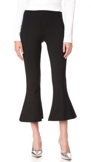 Расклешенные брюки Antonio Berardi. Цвет: голубой