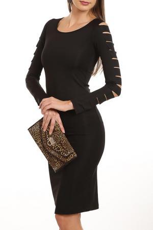 Платье Sateen. Цвет: черный