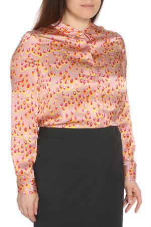 Рубашка Whos Who Who's. Цвет: розовый, принт