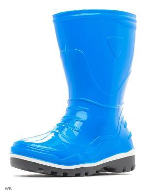 Резиновые сапоги Nordman. Цвет: голубой