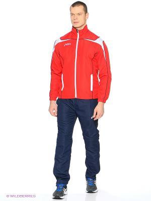 Костюм спортивный SUIT WORLD ASICS. Цвет: синий, красный