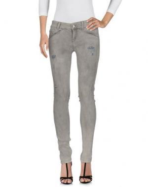 Джинсовые брюки KILLAH. Цвет: светло-серый