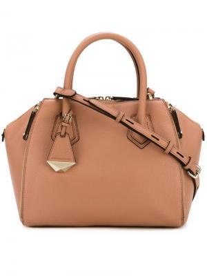 Мини сумка-тоут Perry Rebecca Minkoff. Цвет: розовый и фиолетовый