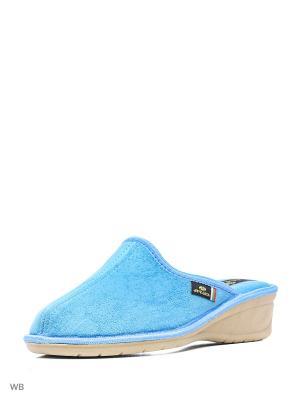 Тапочки Spesita. Цвет: голубой