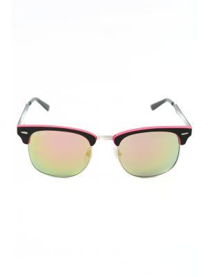 Солнцезащитные очки Mitya Veselkov. Цвет: черный, розовый