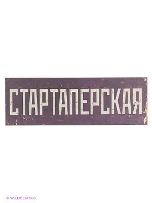 Табличка на дверь Стартаперская Kawaii Factory. Цвет: сиреневый