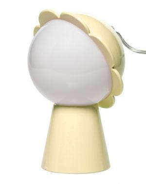 Настольная лампа QEEBOO. Цвет: желтый