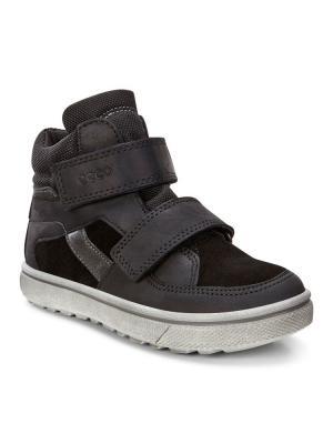 Ботинки ECCO. Цвет: синий, черный