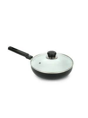 Сковорода (газ/электро) 22 см Peterhof. Цвет: черный