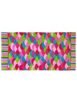 Полотенце BONITA. Цвет: розовый, белый, зеленый