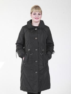 Пальто Астрид VIKO. Цвет: черный