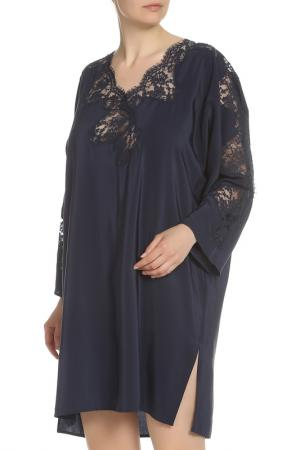 Платье Ermanno Scervino. Цвет: темно-синий