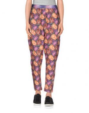 Повседневные брюки ED 2.0. Цвет: фиолетовый