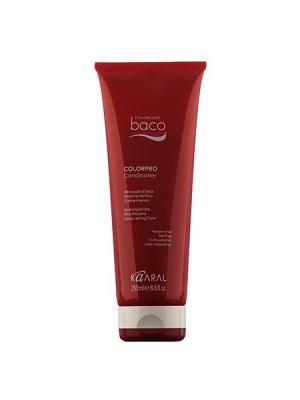Baco Кондиционер для окрашеннных волос с гидролизатами шелка Colorpro Conditioner 250мл. Kaaral. Цвет: темно-красный