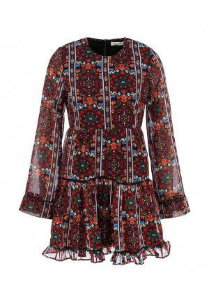 Платье Urban Bliss. Цвет: разноцветный