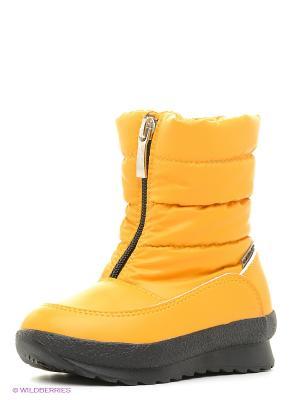 Дутики Alaska Originale. Цвет: желтый