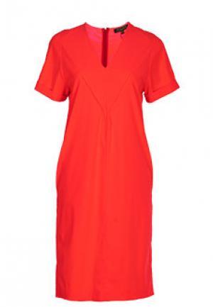 Платье VIA TORRIANI 88. Цвет: оранжевый