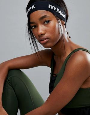 Ivy Park Эластичная повязка на голову с логотипом. Цвет: черный