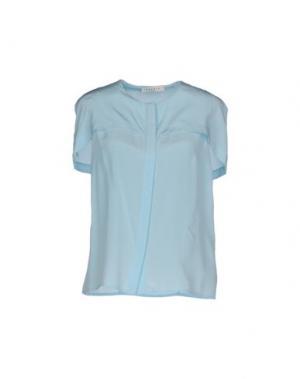 Pубашка SANDRO. Цвет: небесно-голубой