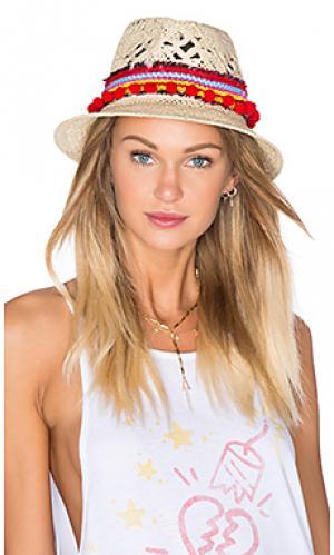 Шляпа chacha Poupette St Barth. Цвет: цвет загара