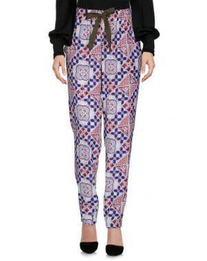 Повседневные брюки SEA. Цвет: красно-коричневый