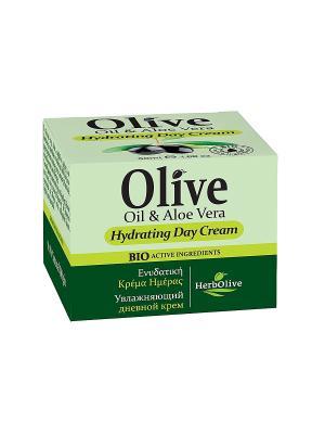 Увлажняющий дневной крем с алоэ, 50 мл Madis S.A.. Цвет: оливковый