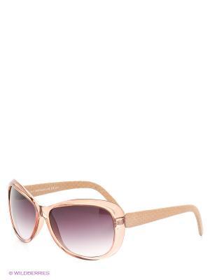 Солнцезащитные очки TOUCH. Цвет: бежевый