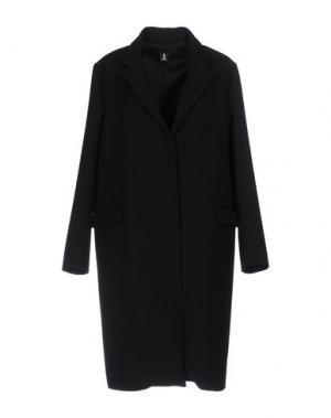Пальто ONE. Цвет: черный