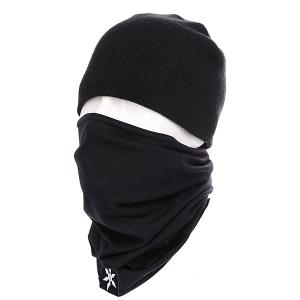 Маска  Ninja Turtleneck Black Airblaster. Цвет: черный
