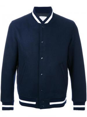 Куртка-бомбер  Award Mr. Gentleman. Цвет: синий
