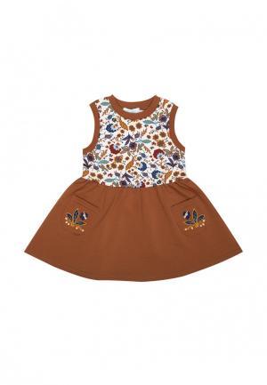 Платье Бимоша. Цвет: разноцветный