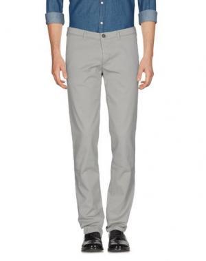 Повседневные брюки CELLAR DOOR. Цвет: серый