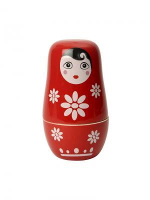 Мерные чашки Матрешка Dexam. Цвет: красный, белый