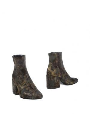 Полусапоги и высокие ботинки NORA BARTH. Цвет: бронзовый