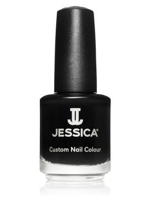 Лак для ногтей  # 752 Intrigue, 14,8 мл JESSICA. Цвет: черный