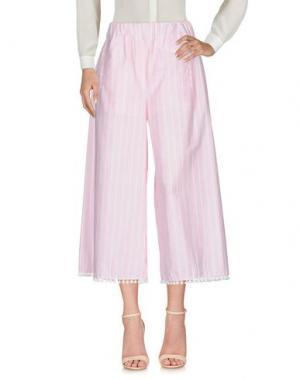 Повседневные брюки HC HOLY CAFTAN. Цвет: розовый