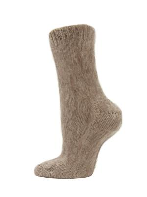 Бабушкины носки HOSIERY. Цвет: бежевый