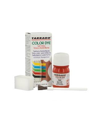 Краситель COLOR DYE, стекло TDC01, 25мл. (102 ЯРКО-КРАСНЫЙ) Tarrago. Цвет: красный