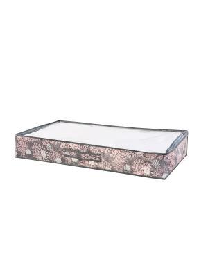 Чехол для одеял, 90х45х15см Серебро 911 COFRET. Цвет: коричневый, бежевый