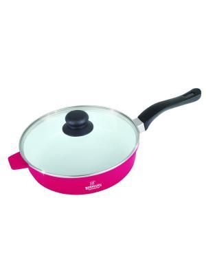 Сковорода с керамическим покрытием BH 6524 BOHMANN. Цвет: синий