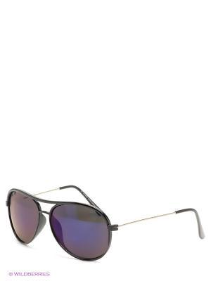 Солнцезащитные очки Funky Fish. Цвет: черный, фиолетовый
