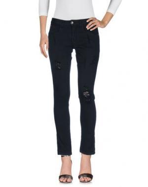 Джинсовые брюки SQUAD². Цвет: черный