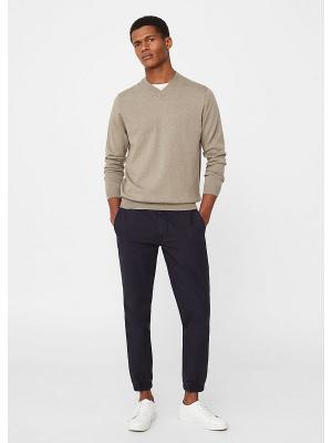 Пуловер- NINE MANGO MAN. Цвет: светло-коричневый